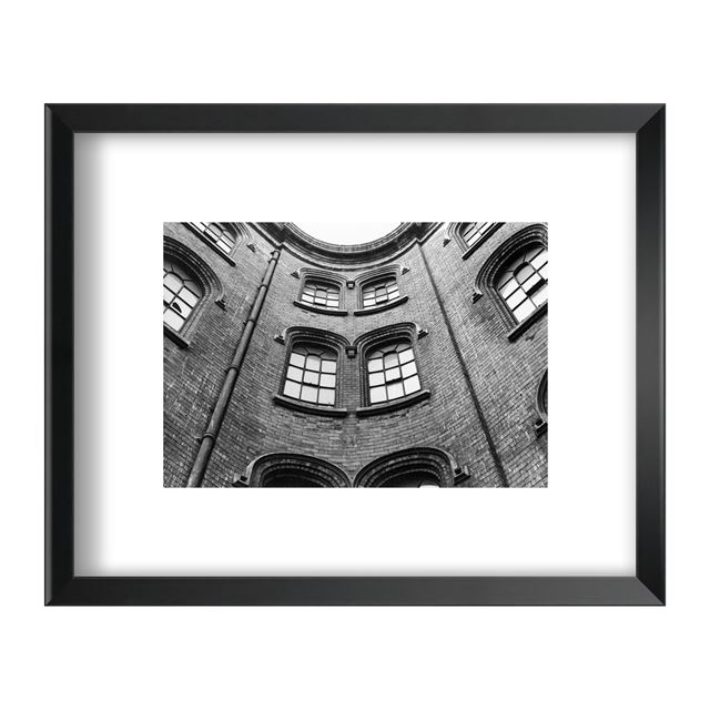 Broadway, Lace Market, Nottingham Circa 1980 - Framed Print - Black Frame