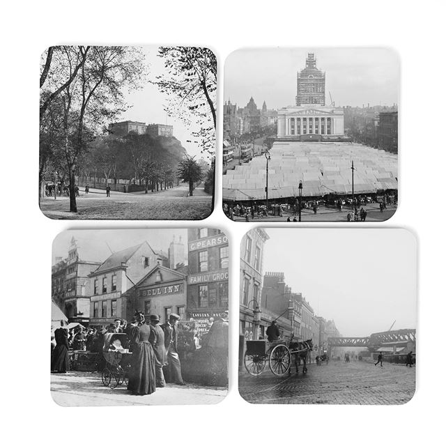 Picture Nottingham Set of 4 Coasters