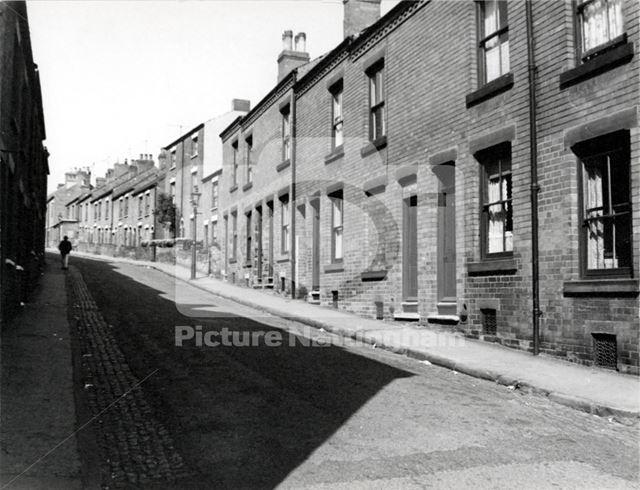 Cowley Street, Basford, Nottingham, 1965