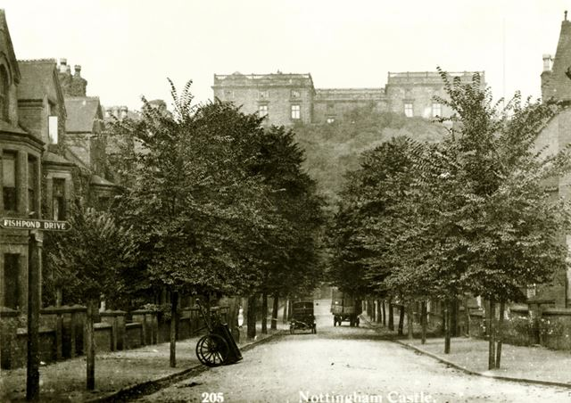 Hope Drive. Nottingham Castle