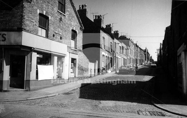 High Church Street, Basford, Nottingham, 1976