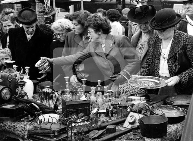 Bric-a-brac stall, Sneinton Market