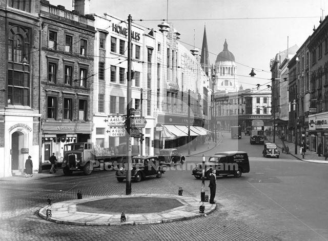 Lister Gate 1950