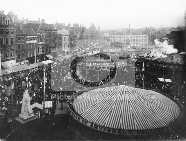 Goose Fair, Market Place, Nottingham