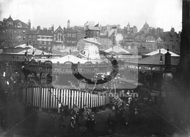 Goose Fair, Market Place 1907 ?