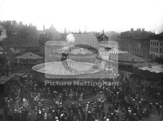 Goose Fair, Market Place 1907?