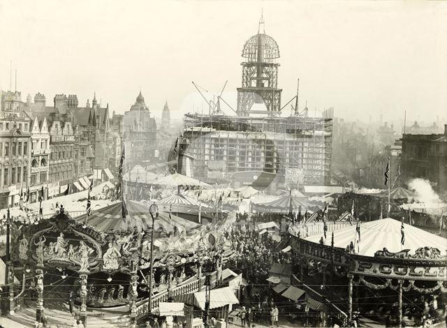 Goose Fair, Market Place 1927