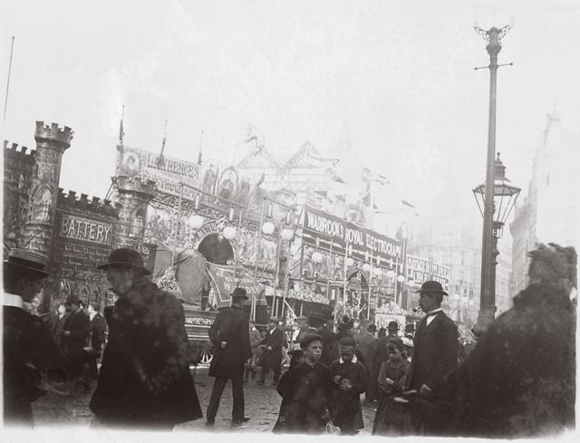 Goose Fair, Market Place , Sideshows 1899