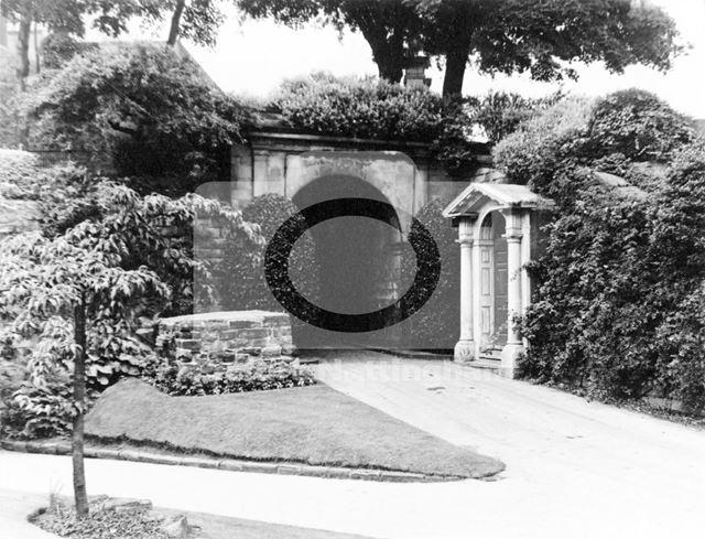 Nottingham Castle grounds, 1971