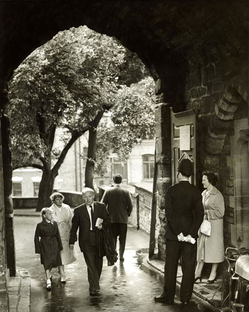 Nottingham Castle Gateway 1960
