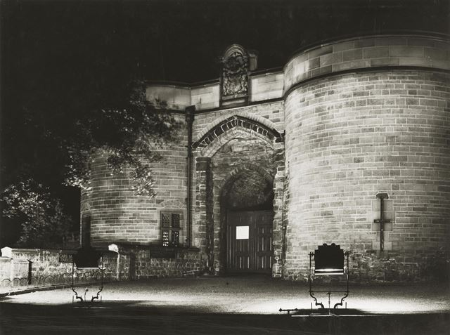 Nottingham Castle Lodge and Gateway 1935