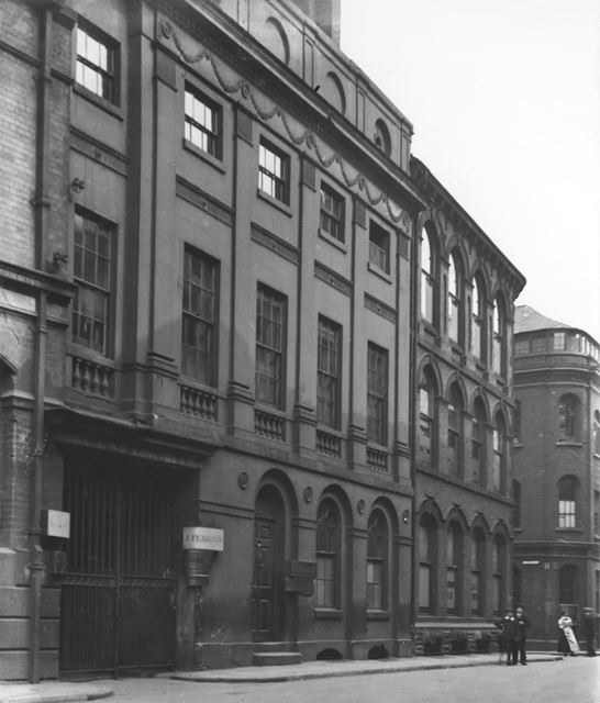 Fearfield's Buildings, St Mary's Gate