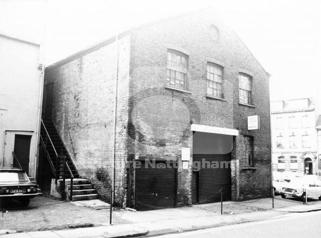 Albert Carter Ltd, Lace Market, Nottingham