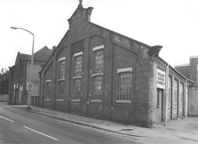 Bridge Mill and Pearson's Mill, Basford 1975