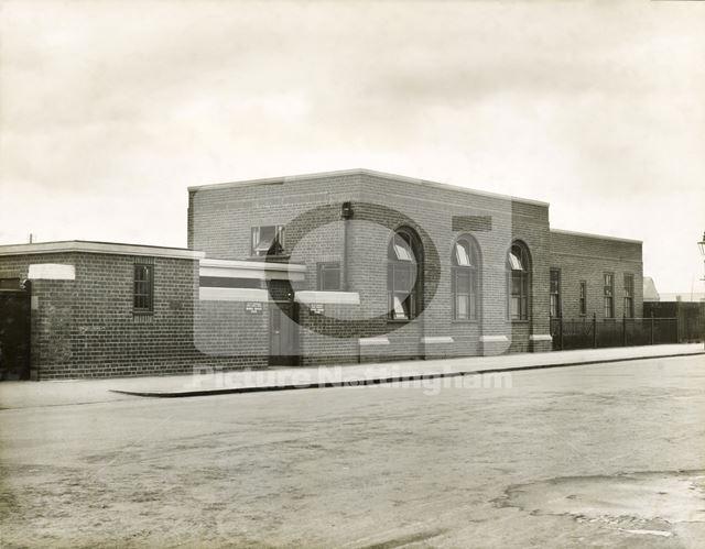 Bulwell Joint Clinic, Main Street, Bulwell c 1930s