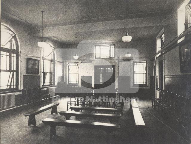 Bulwell Joint Clinic - Interior, Main Street, Bulwell c 1920's-40's ?