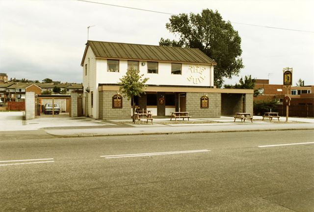 The Bull Public House, now demolished.