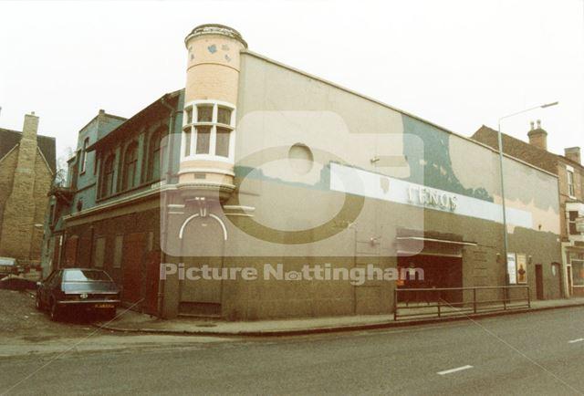 Leno's Cinema, Radford Road, Hyson Green, Nottingham, 1985.