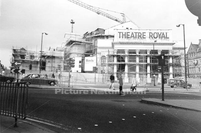 Theatre Royal, Theatre Square, 1977