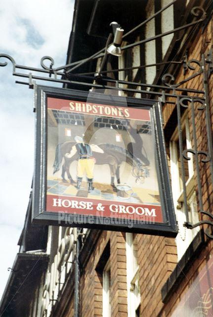 Horse and Groom, Basford Road, Basford, 1983