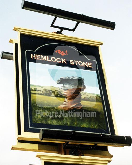 Hemlock Stone, Bramcote Lane, Wollaton, 1995