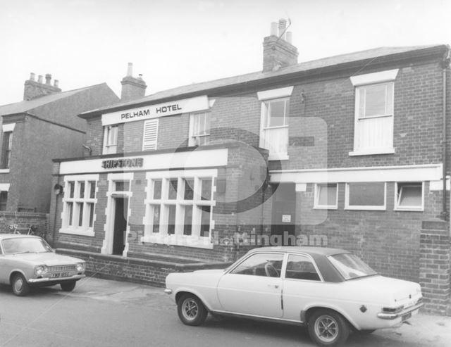 Pelham Hotel, Gawthorne Street, Basford, 1976