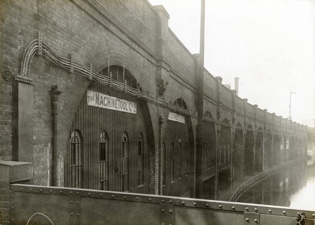 Railway arches opposite Boots the Chemist Island Street factory 1916