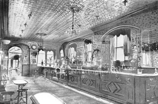 The Talbot Inn - interior, The Top Bar