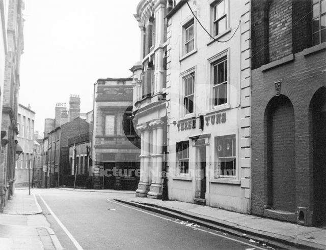The Three Tuns, Lace Market, 1971