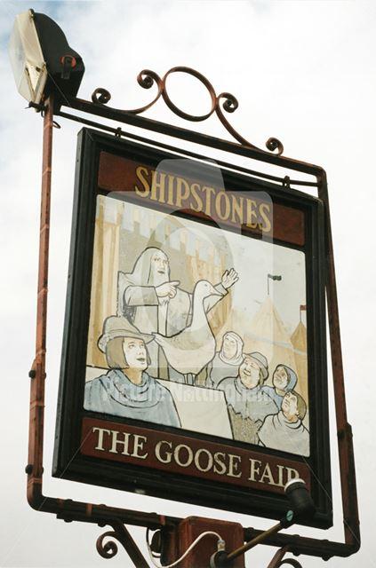 The Goose Fair Public House - sign