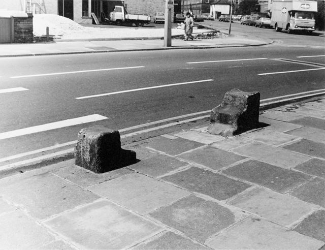 Old Horse Mounting Blocks, The White Hart Inn - Lenton (The old Lenton Coffee House and Peverel Pris
