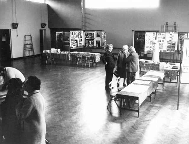 Sneinton Church of England Primary School - 'Old Sneinton' exhibition in School Hall
