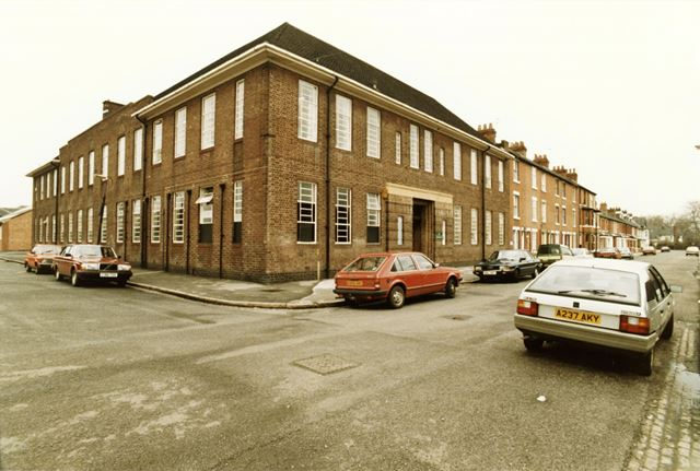 Trent Bridge School, Green Street, Meadows, Nottigham, 1986