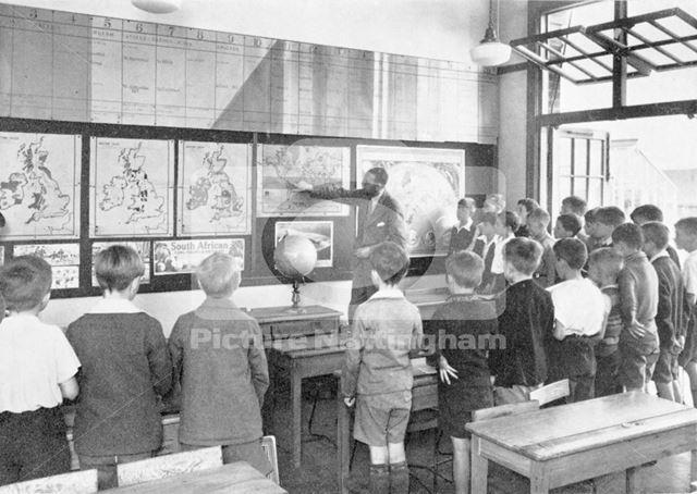 William Crane Schools - boys geography class