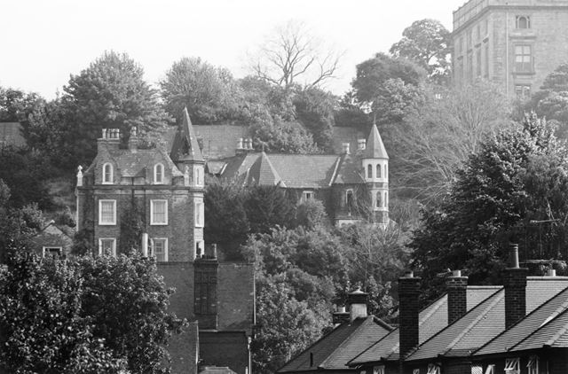 4 and 5 Castle Grove, the Park, and Nottingham Castle