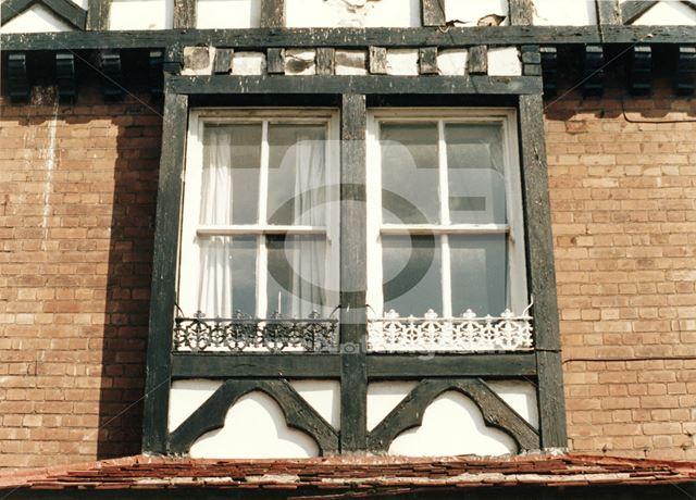 5, Castle Street -detail of window