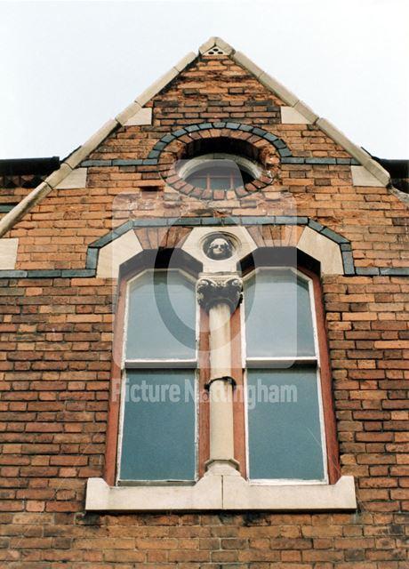 9, Castle Street -detail of window