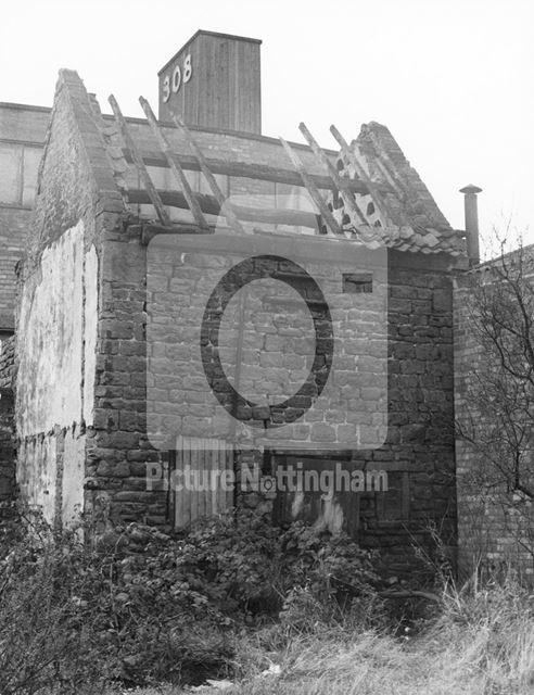Dovecote, Crabtree Farm, Eden Yard, Bulwell, 1979