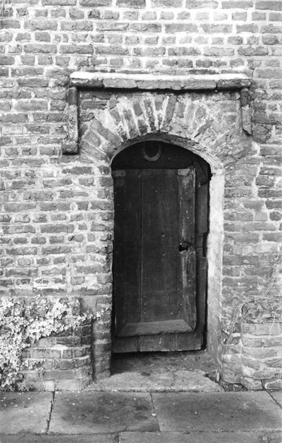 Dovecote -doorway
