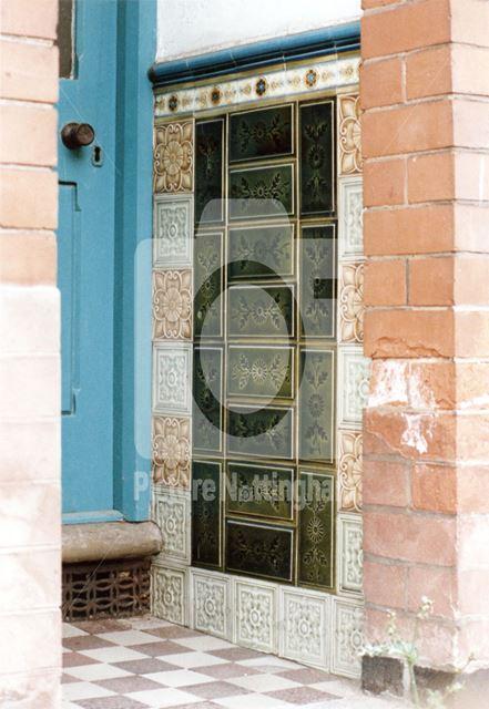 51, Ashfield Road -detail of porch