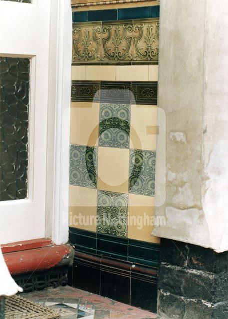 23, Baden Powell Road -porch tiles