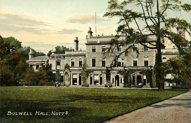 Drawing Room, Bulwell Hall, Bulwell, Nottingham, 1909