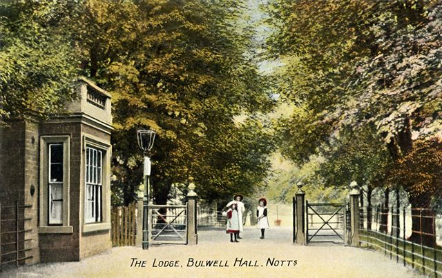 The Lodge, Bulwell Hall Park, Bulwell Hall, Bulwell, Nottingham, 1909