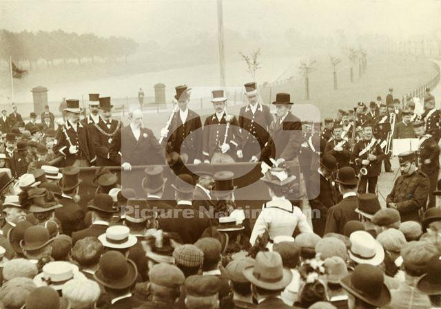 Opening of Victoria Embankment