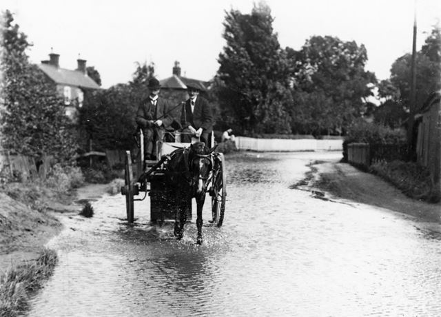 River Trent Floods at Wilford