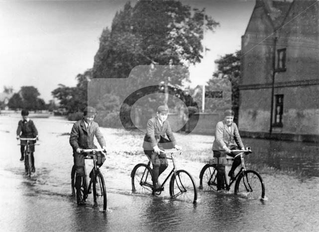 Floods, River Trent