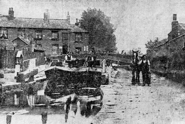 Locks on the Nottingham Canal, Abbey Street ?, Lenton