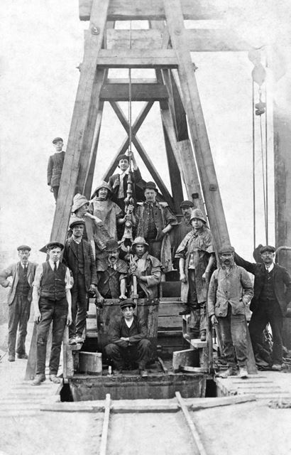 Sinking the Pit Shaft for Rufford Colliery, Rainworth, 1911-13
