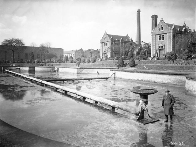 The Bagthorpe, or Basford Waterworks - Pumping station and reservoir