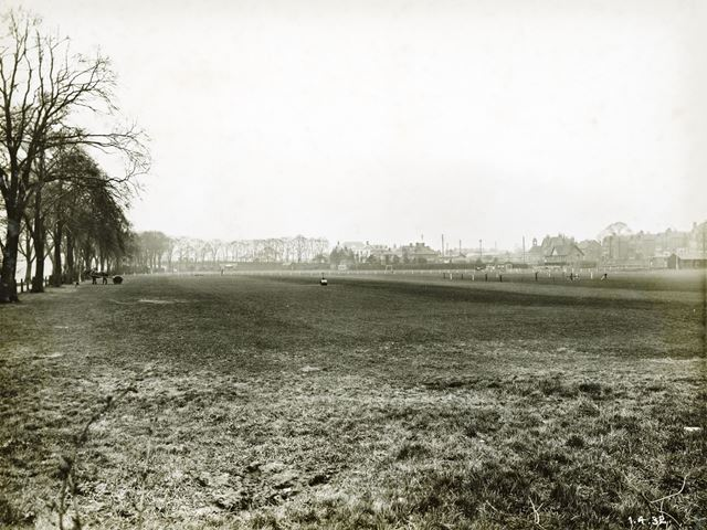 Playing fields between the River Trent and Loughborough Road - before becoming the site of County Ha